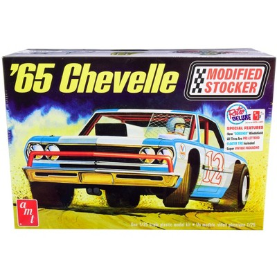 Skill 2 Model Kit 1965 Chevrolet Chevelle Modified Stocker 1/25 Scale Model by AMT