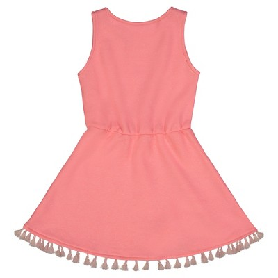Andy & Evan  Toddler Terry Tassel Dress