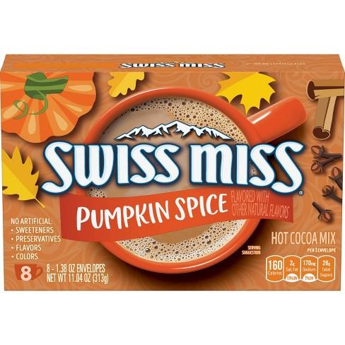 Swiss Miss Pumpkin Spice - 1.38oz - image 1 of 3