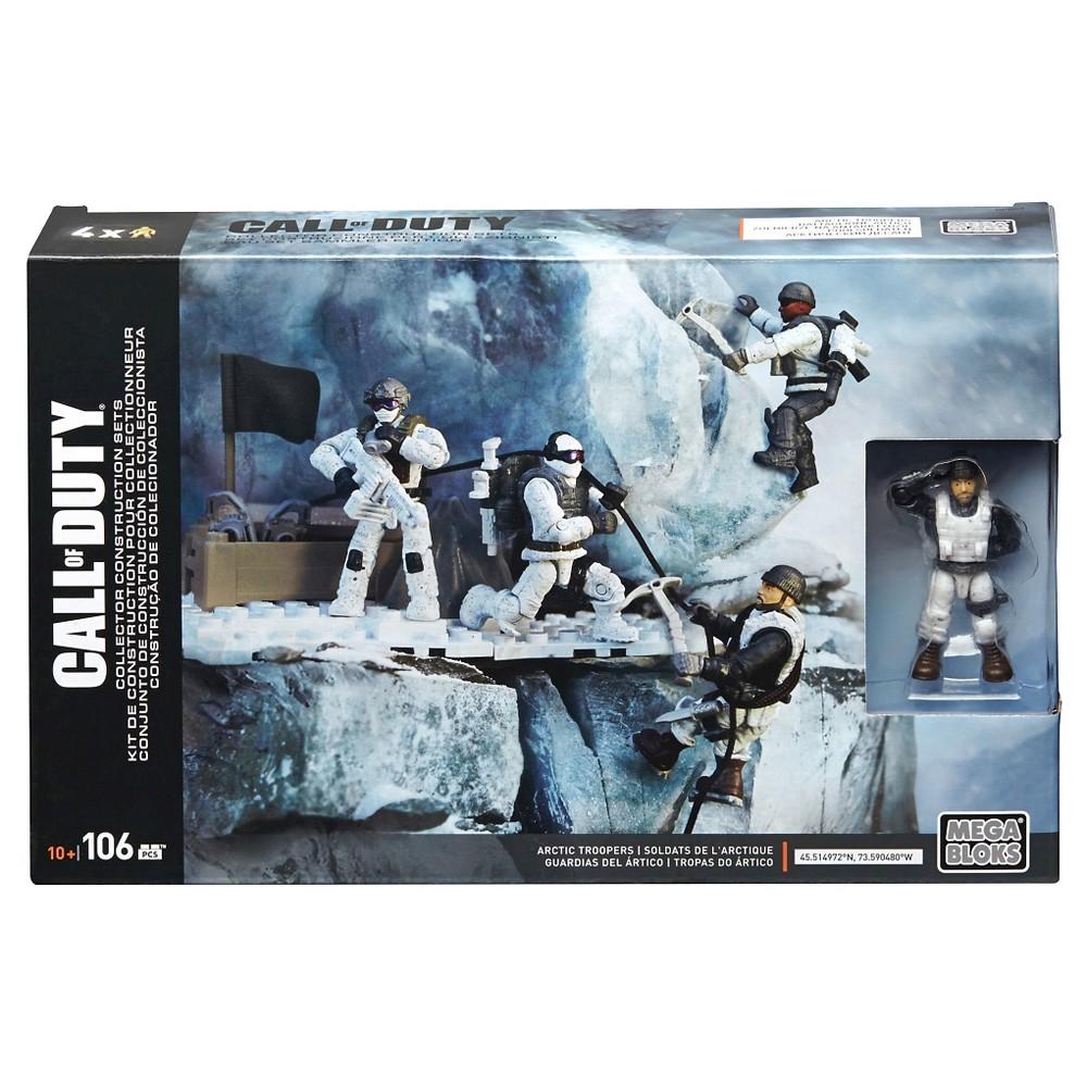 Mega Bloks Call of Duty Arctic Troopers Figure Pack