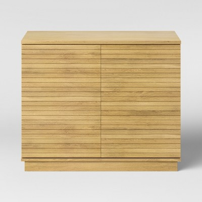 Cliffmay Slat Storage Cabinet Brown - Project 62™
