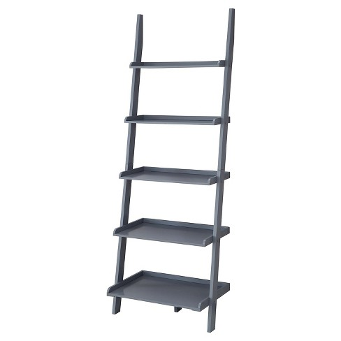 "72"" - American Heritage Bookshelf Ladder - Gray - Convenience Concepts - image 1 of 3"