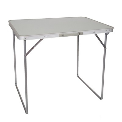 "Stansport Folding Utility Camping Table With Coated MDF Top 27"" x 31"""