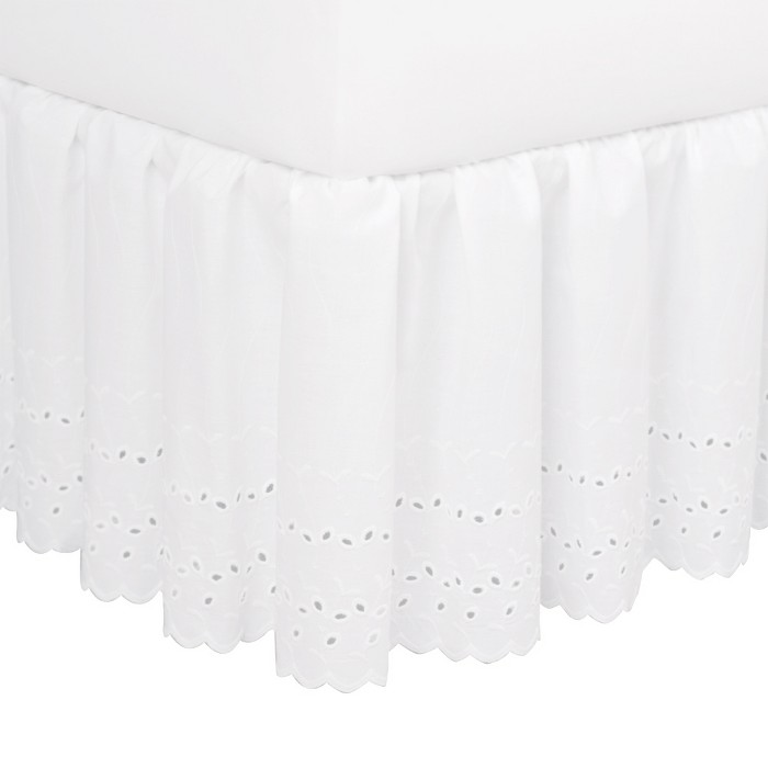 "Eyelet 14"" Bed Skirt - image 1 of 1"
