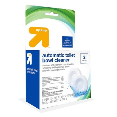Toilet Bowl Cleaning Tablets - 2 ct - up & up™