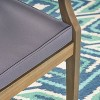 Perla 2pk Acacia Wood Patio Dining Chair - Christopher Knight Home - image 3 of 4