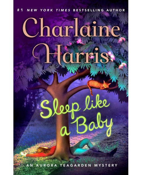 Sleep Like a Baby -  Large Print by Charlaine Harris (Hardcover) - image 1 of 1