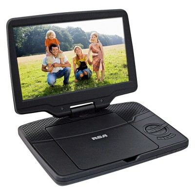 "RCA 9"" Portable DVD Player - Black (DRC98091S)"