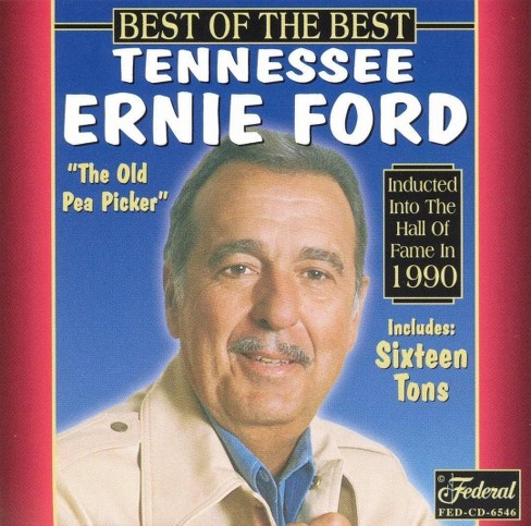 Tennessee erni ford - Best of the best (CD) - image 1 of 1