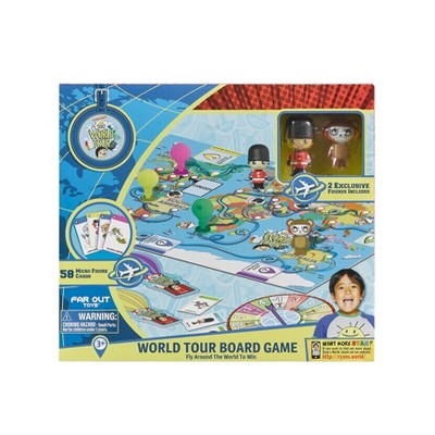 Ryan's World Tour Board Game