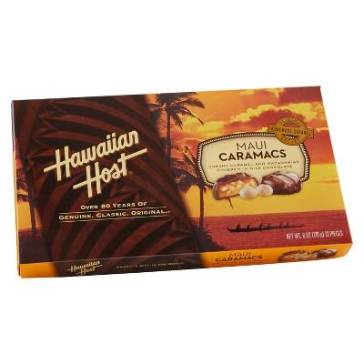Chocolate Candies: Hawaiian Host Caramacs