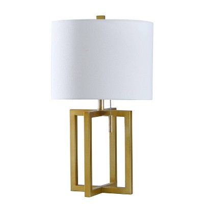 Marilou Table Lamp Gold (Includes Light Bulb)- StyleCraft