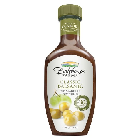 Bolthouse Farms Classic Balsamic Extra Virgin Olive Oil Vinaigrette - 14oz - image 1 of 1