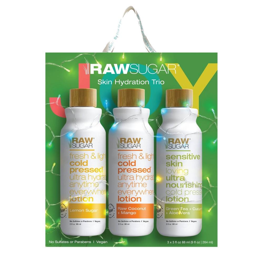 Image of Raw Sugar Body Lotion Trio - 3ct