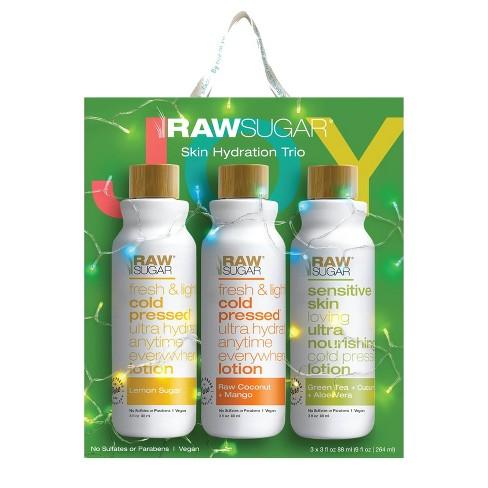 Raw Sugar Body Lotion Trio - 3ct - image 1 of 4