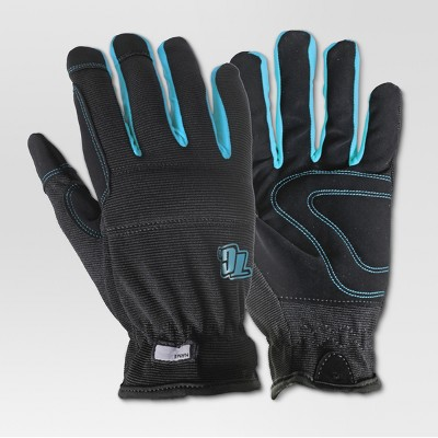 Large Gardening Gloves - Black - True Grip