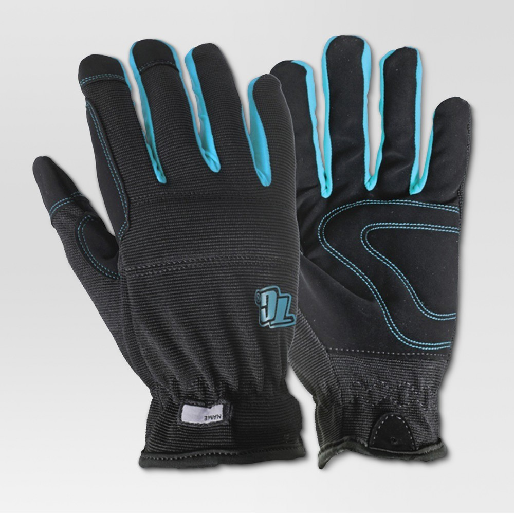 Image of Medium Gardening Gloves - Black - True Grip