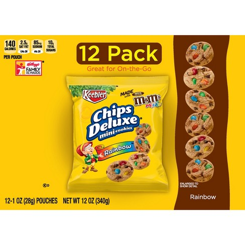 chips deluxe mini rainbow chip cookies 1oz 12ct keebler target