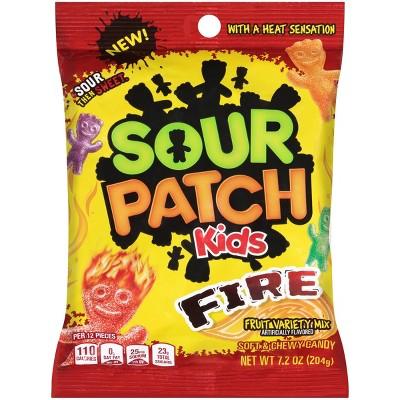 Gummy Candies: Sour Patch Kids Fire