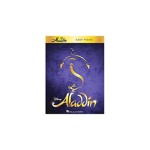 Aladdin : Easy Piano (Paperback) - image 1 of 1
