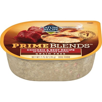 Nature's Recipe Prime Blends Wet Dog Food - 2.75oz