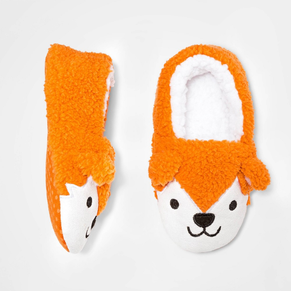 Image of Baby Girls' BalletSlippers - Cat & Jack Colonnade White Opaque 12-24M, Girl's, Orange
