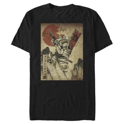 Men's Star Wars Samurai Stormtrooper Scene T-Shirt