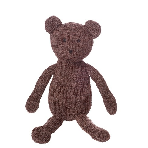 "Manhattan Toy Knits 8"" Juno Bear Stuffed Animal - image 1 of 3"