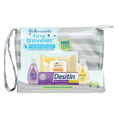 Johnson's Tiny Traveler Gift Set