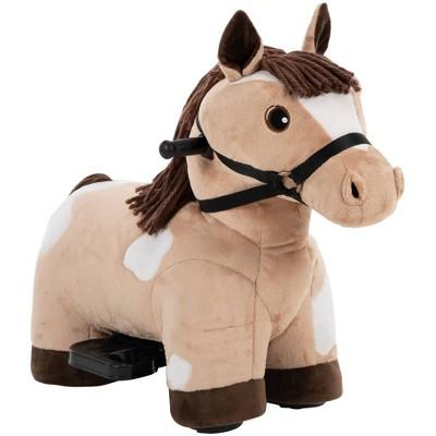 Huffy 6V Horse Plush Powered Ride-On