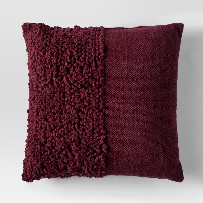 Red Solid Textured Throw Pillow - Project 62™