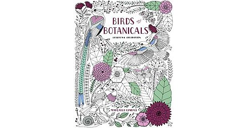 Birds and Botanicals Coloring Collection Adult Coloring Book (Paperback) - image 1 of 1