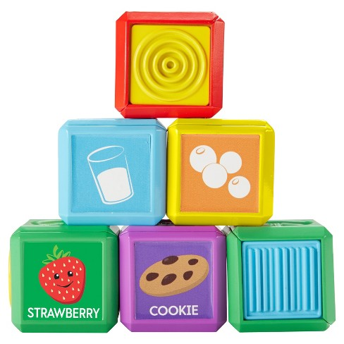 Fisher-Price Laugh and Learn First Words Food Blocks - image 1 of 10