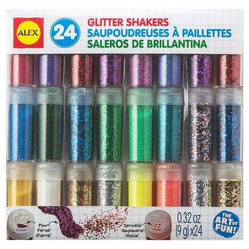 ALEX Toys Artist Studio 24 Glitter Shakers - image 1 of 2
