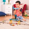 DRIVEN – Airport Playset with Toy Airplane (32pc) – Micro Series - image 3 of 4