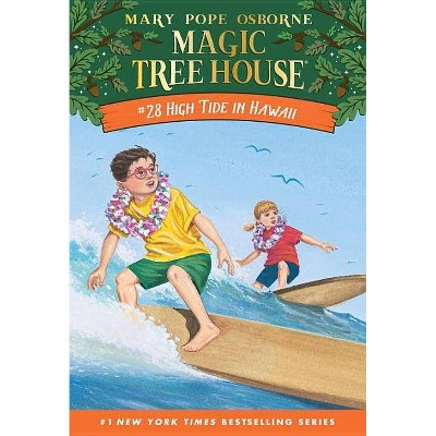 HIGH TIDE IN HAWAII TGT TEMP 02/07/2017 - by Mary Pope Osborne (Paperback)
