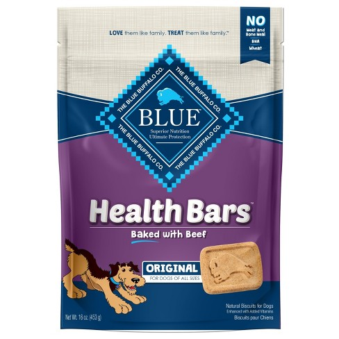 Blue Buffalo - Health Bars Baked With Beef For Dogs - 16oz - image 1 of 1