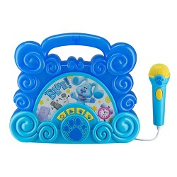 Nickelodeon Blue's Clues and You Sing Along Boombox With Microphone