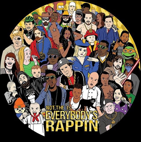 Not the 1s - Everybody's rappin (Vinyl) - image 1 of 1