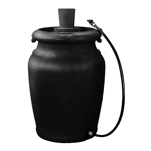 FCMP Outdoor US4000-BLK Urn Style (Black) Rain Barrel - image 1 of 3