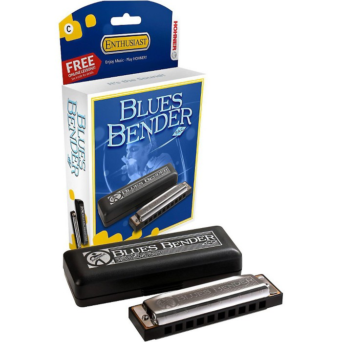 Hohner Blues Bender P.A.C. Harmonica - image 1 of 6