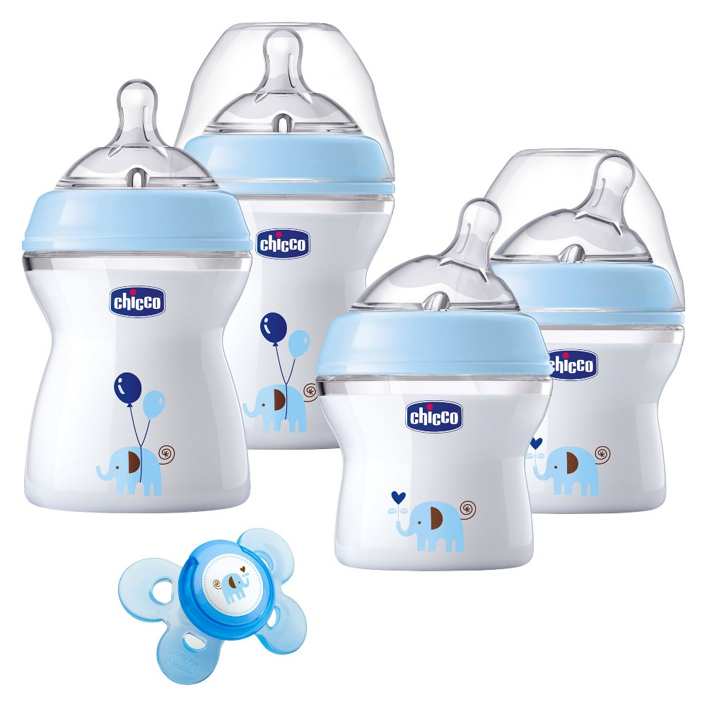 Image of Chicco NaturalFit Newborn Gift Set - Blue