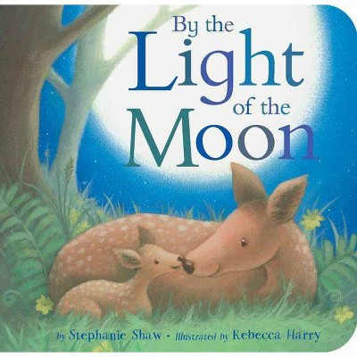 By the Light of the Moon - by Stephanie Shaw (Board_book)