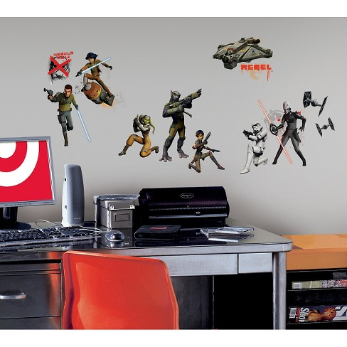RoomMates Star Wars Rebels Peel and Stick Wall Decals - image 1 of 2