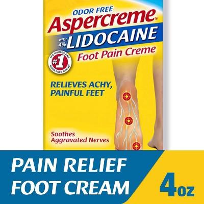Aspercreme Lidocaine Foot Pain Lotion - 4oz