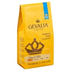 Gevalia Traditional Medium Roast Ground Coffee - 12oz