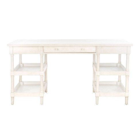Dixon Desk White - Safavieh - image 1 of 9