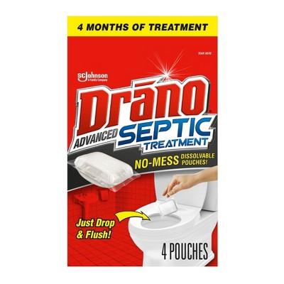 Drano Advanced Septic Treatment - 4ct
