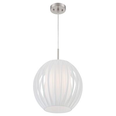 Ceiling Lights Deion Pendant - Polished Steel - Lite Source