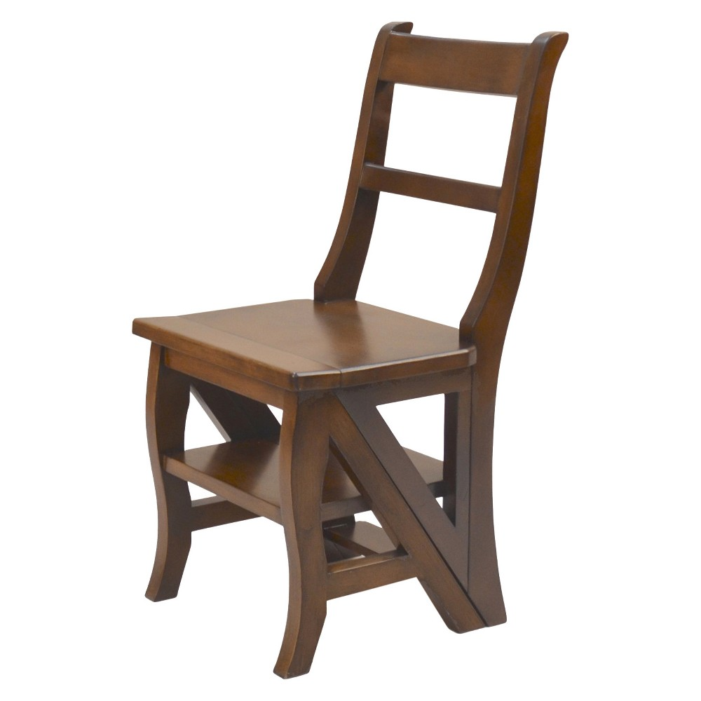 Image of Franklin Library Chair - Chestnut - Carolina Chair and Table, Brown